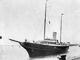 J.P. Morgan Jr.'s Yacht 'Corsair,' as it Arrived in Southampton, England, July 27, 1934 Photo