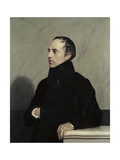 Francois Pierre Guillaume Guizot, French Minister and Historian. Ca. 1830 Giclee Print by Jehan Vibert