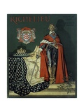 Book Cover 'Richelieu' Giclee Print by Maurice Leloir