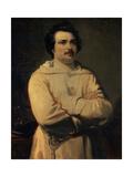 Honore De Balzac, 1836 Giclee Print by Louis Boulanger