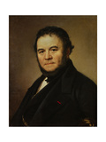 The French Writer Henri Beyle, also known as Stendhal, 1840 Giclee Print by Johan Olaf Sodermark