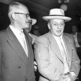 Roger Touly (Right), Prohibition Era Gangster's 99 Year Prison Sentence to Be Set Aside Photo