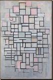 Composition No. IV Impressão em tela esticada por Piet Mondrian