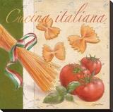 Cucina italiana Stretched Canvas Print by Bjoern Baar