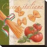 Cucina italiana Lærredstryk på blindramme af Bjoern Baar