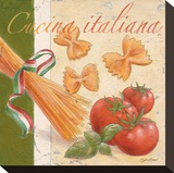 Cucina italiana Stretched Canvas Print by Bjoern Baar