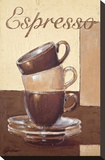 Espresso Stretched Canvas Print by Bjoern Baar