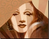 Marlene in T. Limelight Stretched Canvas Print by  Joadoor