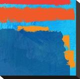 Mediterranean Sundance 4 Stretched Canvas Print by Toy Jones