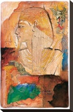 Medinet Habob in Thebe Stretched Canvas Print by  Joadoor