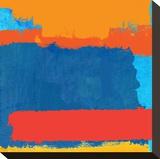 Mediterranean Sundance 3 Stretched Canvas Print by Toy Jones