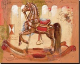 Prince Bajan Stretched Canvas Print by  Joadoor