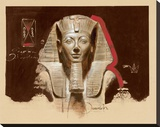 Living Image of Amun Stretched Canvas Print by  Joadoor