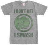 Incredible Hulk- I Don'T Lift Vêtements