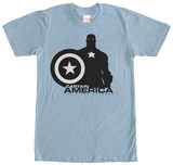 Captain America- Black & White (Premium) T-shirts