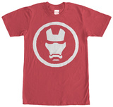 Iron Man- Mask Emblem T-Shirt