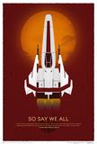 Battlestar Galactica- 10Th Anniversary Art Print Poster