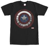 Captain America- Shield Mandala Tシャツ
