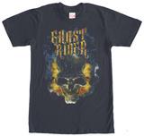 Ghost Rider- Fiery Skull T-skjorter