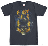 Ghost Rider- Fiery Skull T-Shirt