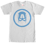 Captain America- Iconic Mask T-Shirt