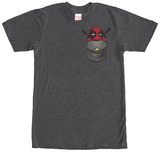 Deadpool- Pocket Pal Tシャツ