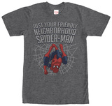 Spiderman- Along Came A Spider-Man T-Shirt