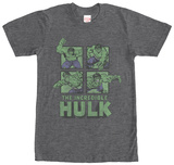 Incredible Hulk- Smash Panels Shirt
