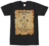 Deadpool- Wanted Poster T-shirts