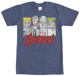 Avengers- Pop Group T-shirts