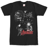Avengers- Action Silhouette T-shirts