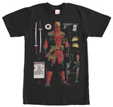 Deadpool- Aresenal Pack Camisetas