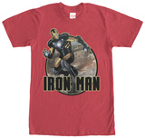 Iron Man- Black & Gold Armour T-shirts