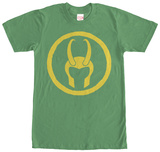Loki- Helmet Badge Shirt
