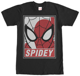 Spiderman- Heroic Mask T-Shirts