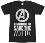 Avengers- Training To Save The World Shirts