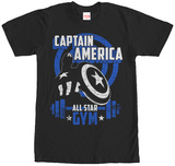 Captain America- All Star Gym Shirt