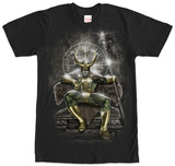 Loki- Throne Of Asgard T-Shirt