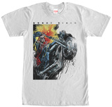 Ghost Rider- Fiery Watercolors T-shirts