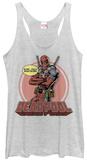 Juniors Tank Top: Deadpool- Whatever T-Shirt