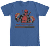 Deadpool- Workout In Progress T-shirts