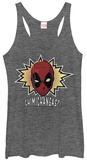 Juniors Tank Top: Deadpool- Chimichangas! T-shirts
