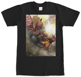 Deadpool- About To Strike Shirts