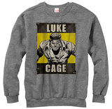Crewneck Sweatshirt: Luke Cage- Heroes Rage T-Shirts