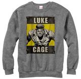 Crewneck Sweatshirt: Luke Cage- Heroes Rage T-shirt