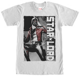 Guardians Of The Galaxy- Star Lord In Space Tshirts