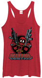 Juniors Tank Top: Deadpool- Ready For Action T-Shirt