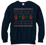 Crewneck Sweatshirt: Spiderman- Ugly Arachnid Sweater T-Shirt