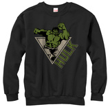 Crewneck Sweatshirt: Incredible Hulk- Smash Power Shirts
