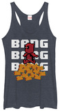 Juniors Tank Top: Deadpool- Pixels T-shirts